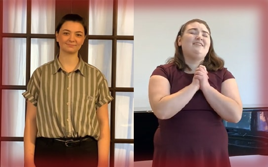 Anna Maria College Music Students Advance to National Rounds of Singing Competition