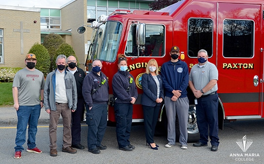 PaxtonFire Department and Anna Maria College