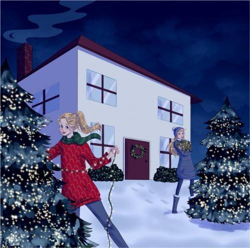 Emily Petrillo - Christmas Decorating - Digital, Procreate - Paul VI High School